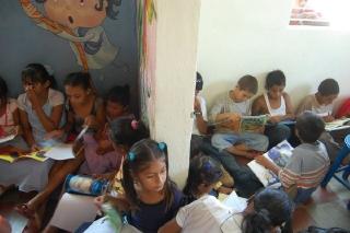 Kinderbibliothek in Malacatoya, Eröffnung